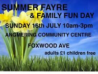 stallholders /market traders / crafters Sunday 16th July 2017 Summer Fayre and family fun day