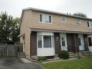 AVAILABLE NOW - VERY NICE 3+1 BEDROOM SEMI-DETACHED IN AYLMER