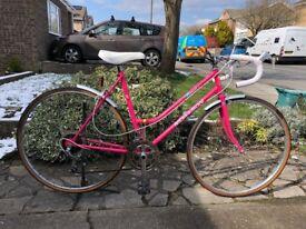 Vintage 1980's ladies road bike......