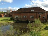 Office space available in pretty farm location within ½ mile from Cobham Town Centre