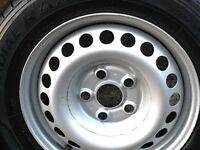 Volkswagen transporter steel wheels set of 4