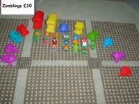 bundle of Zomblings £10 the lot collection from didcot from a smoke and pet free home