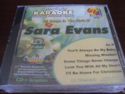 Chartbuster 6 6 Karaoke Disc 20653 Sara Evans Vol 2 Cd G Country Multiplex