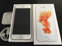 Brand new iPhone 6s 64GB Rose Gold factory unlocked