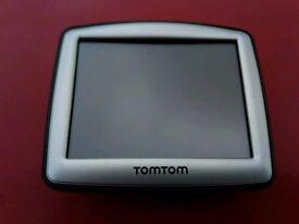 TomTom One navigation.