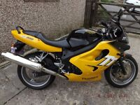 TRIUMPH TT600. 2001, 14000 MILES, IMMACULATE CONDITION. FULL SERVICE HISTORY