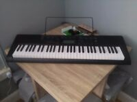 I'm selling my daughter's Casio Electronic Keyboard still in wrappers and original box
