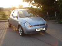 FORD KA 1.3 ZETEC CLIMATE 72,000 MILES ECONOMICAL IMMACULATE CONDITION RECENT SERVICE 11 MONTHS MOT