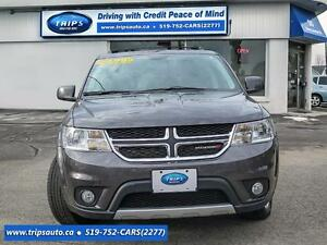 2015 Dodge Journey AWD, RT, LEATHER, TOUCH SCREEN, LOW MILEAGE