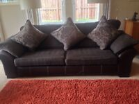 Four Seater Sofa plus Two Chairs