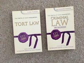 2 KEY CASE LAW BOOKS