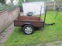 5.5ft x3.5 ft car trailer