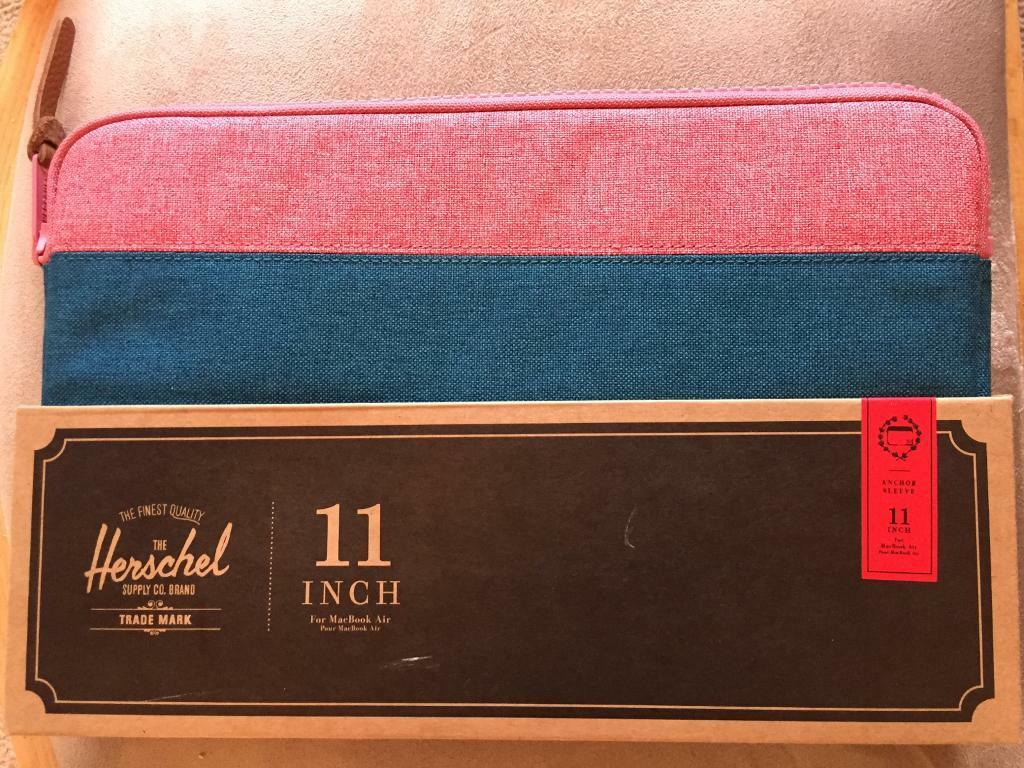 "Herschel 11"" MacBook Air case - brand new"
