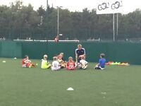 Football coaching for 3-12 year olds