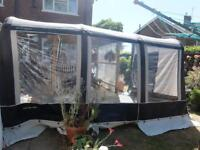 Charcoal bradcot aspire air 390 porch awning