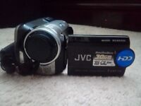 JVC 30GB HARD DISK CAMCORDER EVERIO GZ-MG77AH WITH CASE