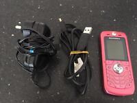 Motorola SLVR L6 Mobile Phone in pink
