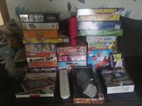 BOARD GAMES AND ELECTRONIC GAMES - LARGE BUNDLE / LOT - OVER 26 ITEMS EXCELLENT CONDITION