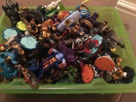 Over 100 skylanders figures