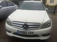 Mercedes full Amg Spec white