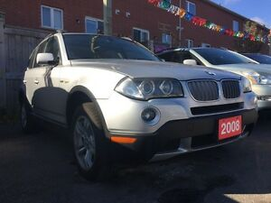 2008 BMW X3 Low KM 158k Leather Panorama Roof Alloys LOADED
