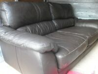 3 + 2 seater ( NEW SOFA ARRIVING ) REAL LEATHER ( FREE DELIVERY IN BATH !!!!!!! )