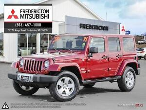 2011 Jeep WRANGLER UNLIMITED SAHARA! REDUCED! AIR! ALLOYS! ONLY