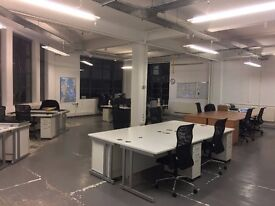 Co-working office space to share in Shoreditch, available April 2017!