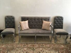 Brand new french sofa and chairs