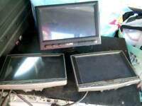 Touch Screen Monitors x3