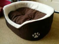 Comfy Dog Bed. SOLD