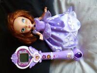 Princess Sofia VTech interactive wand and Talking doll - Shipley