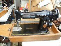 201K Singer Semi-Industrial Sewing Machine 10 June 1937