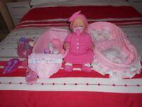 Baby Born Doll with many extras