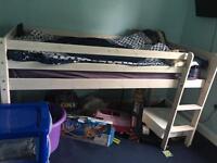 Mid cabin bed frame £30