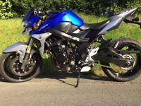 Suzuki GSR 750. Good condition, low mileage, excellent bike