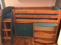 Good quality mid sleeper / cabin bed