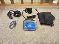 TOMTOM ONE SAT NAV V4 UK MAPS AUTOMOTIVE GPS RECEIVER SATELLITE NAVIGATION USB