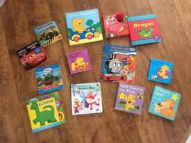 Selection of children's books - spot, thomas, cars, digger, dragon, night garden