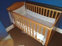 Mothercare cot bed cotbed good as new
