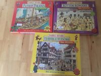 BNIB horrible histories puzzles
