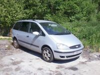 FORD GALAXY TDDI 7 SEATER,RUNS & DRIVES, MOT AND TAX EXPIRED. £395.00 NO OFFERS!!!