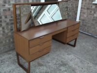 Europa Furniture retro dressing table with mirror