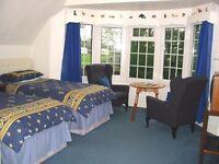 Twin room available for single occupency
