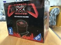 X FACTOR CDG KARAOKE MACHINE & EXTRA MIC