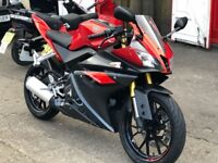 2016 yamaha yzfr 125 red abs low mileage horfield bristol