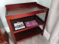 Obaby Changing Table (walnut) for sale