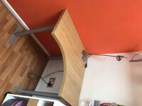 Corner desk and side unit - excellent condition!