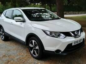 2016 Nissan Qashqai 1.5 Dci 110 N-Connecta Xtronic 5dr 18M 'Storm White' extra