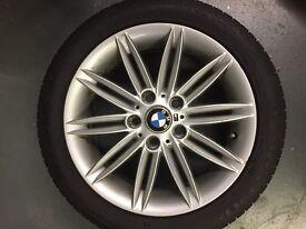 "BMW WHEELS 17"" M SPORT ALLOY WHEELS"